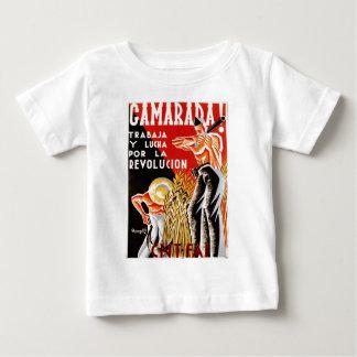 Poster original civil 1936 de la guerra CNT-FAI de Camiseta De Bebé