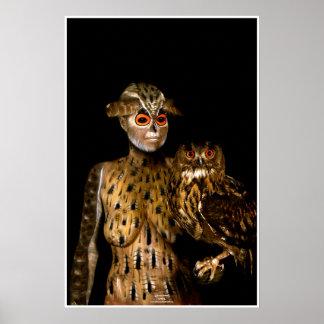 Póster Owl by Johannes Stötter