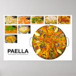 Póster paella