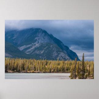 Póster País Alberta Canadá de Kananaskis