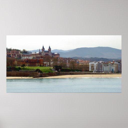 Póster Palacio de Miramar en Donostia - San Sebastián