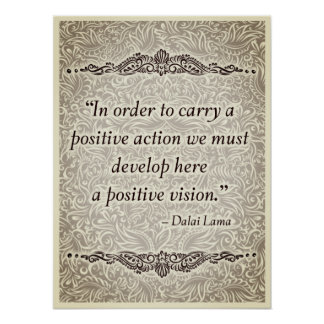 Póster Para llevar un positivo - Quote´s positivo