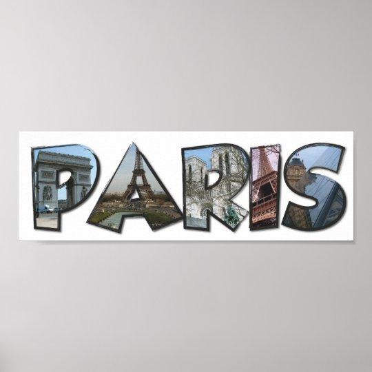 Póster Paris