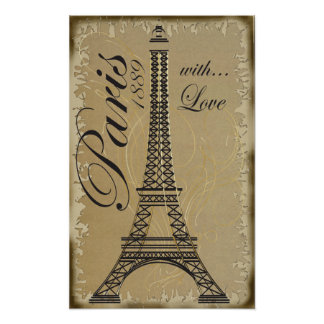 Póster París, con amor