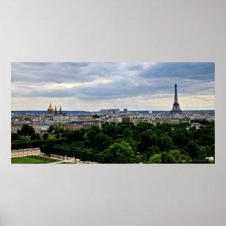 Poster parisiense de la visión