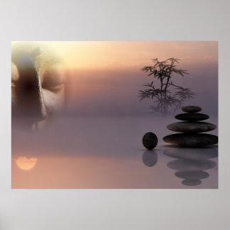 Póster Paz y tranquilidad