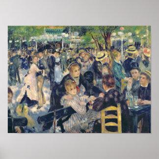 Póster Pedro una bola de Renoir el | en el Moulin de la
