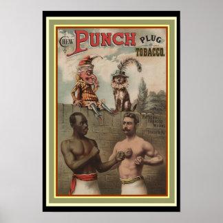 Póster Perfore el poster 13 x 19 del anuncio del tabaco