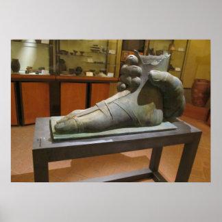 Poster--Pie de Etruscan Póster