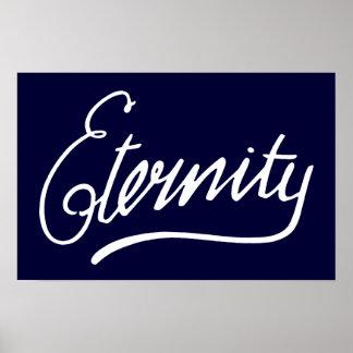 Póster Pintada de Sydney de la eternidad
