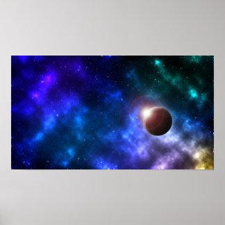 Póster Planeta solitario