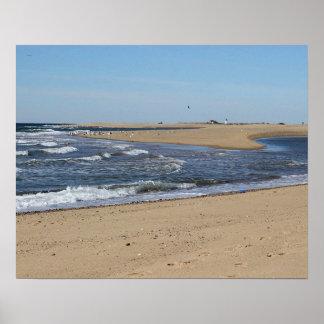Póster Playa de Provincetown en Cape Cod