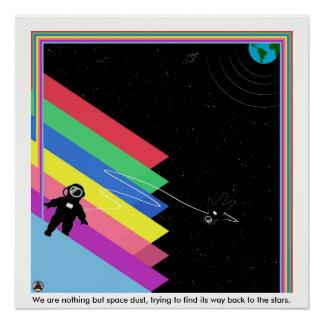 Póster Polvo del espacio