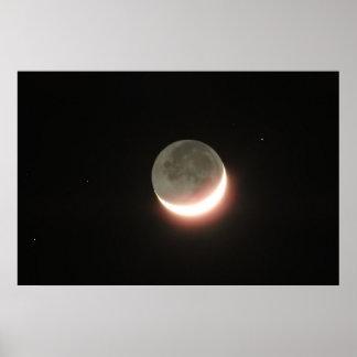 Póster Poster 015 de la luna