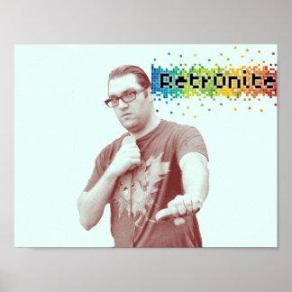 Póster Poster 10 del estallido de Retr0nite