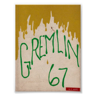 Póster Poster 1967 del anuario de Graydon Gremlin