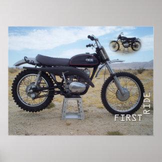 Póster Poster 1971 de Yamaha RT1 360MX