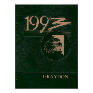 Póster Poster 1993 del anuario de Graydon Gremlin