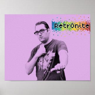 Póster Poster 1 del estallido de Retr0nite