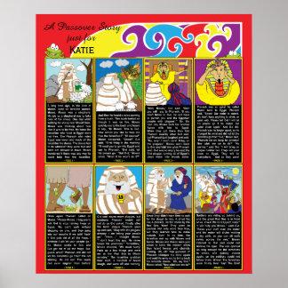 """Póster Poster 20"""" de la historia del Passover x 24"""" final"""