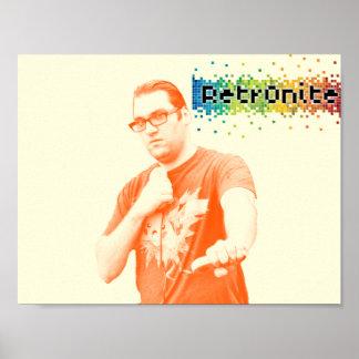 Póster Poster 4 del estallido de Retr0nite