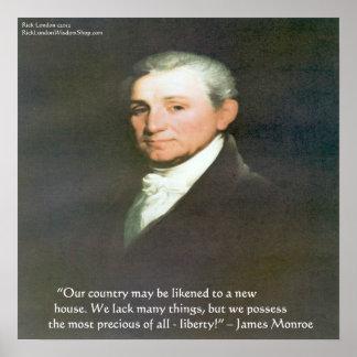 Póster Poster americano de la cita de la sabiduría de la