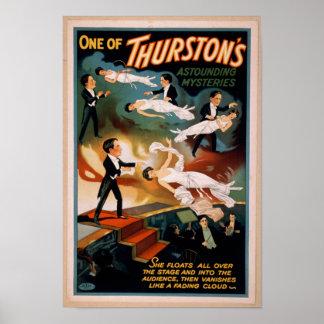 Póster Poster asombroso de la magia de los misterios de