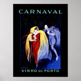 """Póster Poster """"Carnaval """" del art déco de Leonetto"""