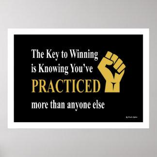 Póster Poster - cómo ganar