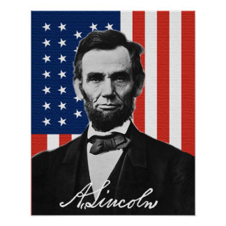 Póster Poster de Abraham Lincoln