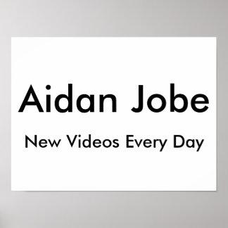 Póster Poster de Aidan Jobe