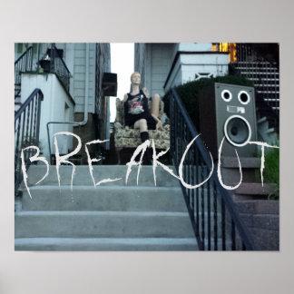Póster Poster de BREAKOUT_ART [logotipo]