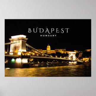 Póster Poster de Budapest