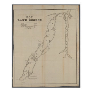 Póster Poster de George del lago