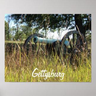 Póster Poster de Gettysburg - cañón