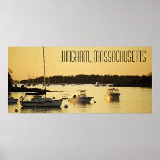 Póster Poster de Hingham Massachusetts
