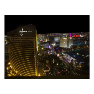 Póster Poster de la antena de Wynn Las Vegas