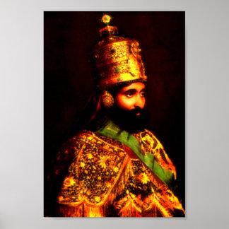 Póster poster de la coronación del ቀዳማዊኃይለሥላሴ el | Haile