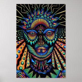 Póster Poster de la diosa