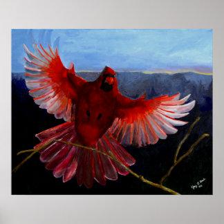 Póster Poster de la gloria del cardenal