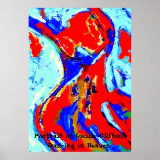 Póster Poster de la mujer del baile