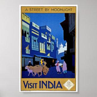 Póster Poster de la obra clásica del viaje de la India de
