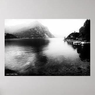Póster Poster de la opinión de Como del lago