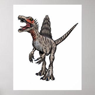 Póster Poster de la pared de Spinosaurus
