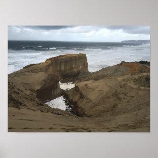 Póster Poster de la playa del cañón