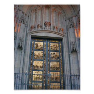 Póster Poster de las puertas de San Francisco Ghiberti