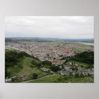 Póster Poster de Llandudno (País de Gales del norte)