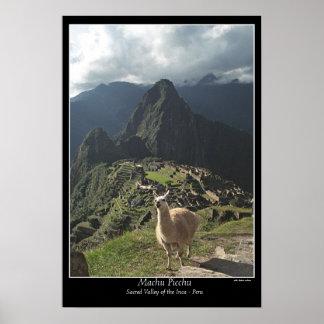 Póster Poster de Machu Picchu (siete maravillas del