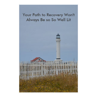 Póster Poster de motivación de la recuperación
