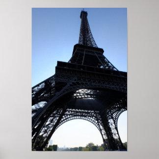 Póster Poster de París Francia de la torre Eiffel